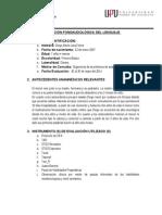 Informe de Evaluacion de Diego Jara