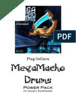 MegaMacho Drums BT READ ME