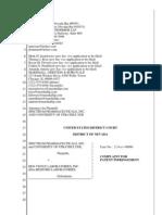 Spectrum Pharmaceuticals et. al. v. Ben Venue Laboratories