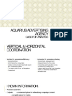 Aquarius Advertising Agency Ch 2 - Case Solution