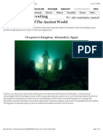 Sunken Cities Of The Ancient World | All That Is Interesting