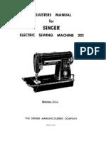 Singer 201-3 Manual