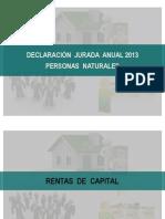 Renta Personas Naturales Dj 2013
