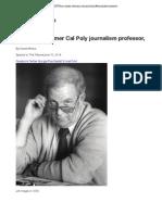 Jim Hayes, former Cal Poly journalism professor, dies at 88