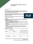 Formato de aplicación para beca Combating Desertification and Drought