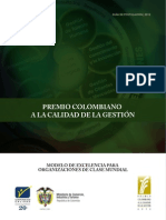 Cartilla Premio Colombiano