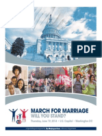'Washington Times' special 'March For Marriage' supplement