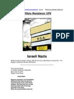 Military Resistance 12F6 Israeli Nazis