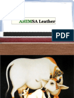 Ahimsa Leather