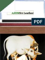 Ahimsa Leather