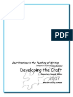 developing the craft