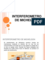 Interferometro de Michelson