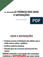 o Modelo Teórico Dos Usos e Das Satisfações