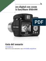cámara Kodak DX6490