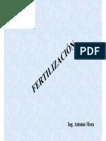 Fertilización en Cacao a.mora