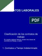 Clasificación de los Contrato de Trabajo.p pt