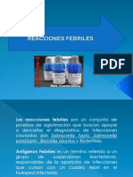 Rx Febriles
