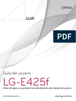 Manual de Usuario LG-E425f