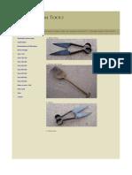 Antique Farm Tools - Tools 1-99