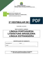 Prova Lingua Portuguesa l Estrangeira
