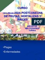 V. Factores Bioticos.