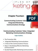 Principles of Marketing Chapter 14 (Communicating Customer Value Integrated Marketing Communications Strategy)