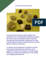 Tipos de Rocas 8º