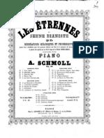 Schmoll Anton Les a Trennes Du Jeune Pianiste 65366