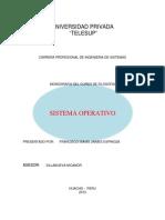 Monografia Sistema Oprativo
