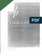 Principios Cooperativos en Cooperativismo El Modelo Alternativo