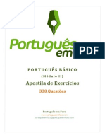 Apostila .de Exercicios - Portugues Basico Modulo II