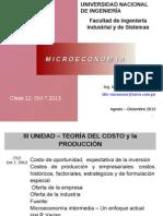 Clase 12 Teoria Del Costo Oferta de La Empresa Oct 7