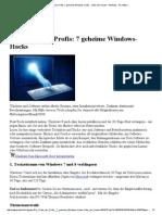 Die Tricks der Profis_ 7 geheime Windows-Hacks - Unter der Haube - Windows - PC-WELT.pdf