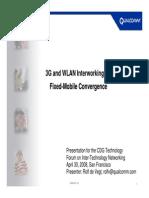 3G & WLAN Interworking