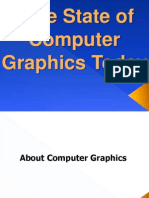The State of Computer Graphics Today