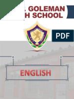 Compendio Ingles - 1ero Primaria