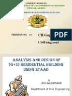 designandanalasysofag3residentialbuildingusingstaad-140207013757-phpapp01