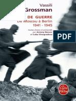 Carnets de Guerre - Vassili Grossman