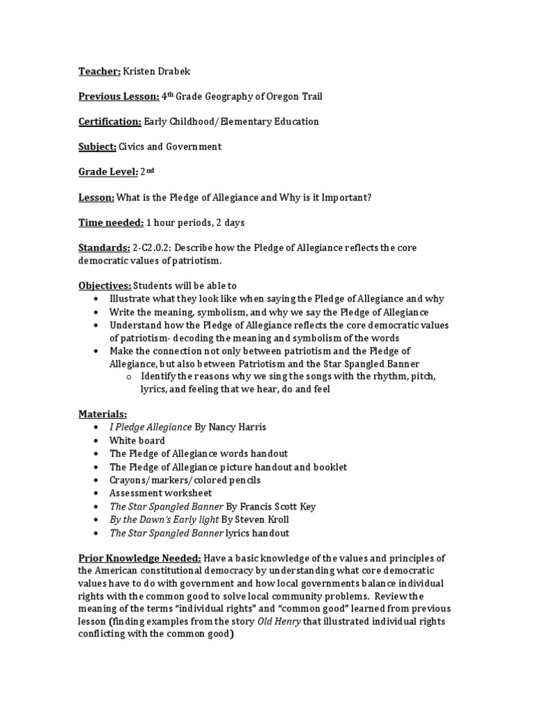 Red, White, and Blue: Patriotic Lesson Plans and Classroom ...