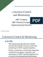 DOT Pipeline Corrosion