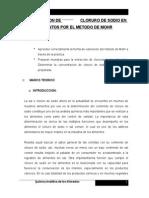 Determinacion de Cl1