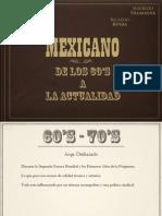 Cine Mexicano 60_s a Actualidad