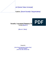 App CA Security Assessment Summary Template 030408