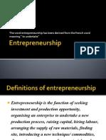 Bus Entrepreneurship