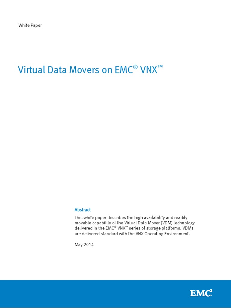 vnx data movers domain name system file system rh scribd com