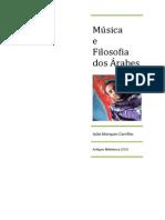 Joao Marques Carrilho Musica e Filosofia Dos Arabes