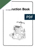 Manual Maquina de Cocer
