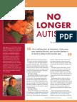 No Longer Autistic! by Lisa Mize
