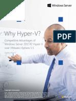 Competitive Advantages of Windows Server Hyper v Over VMware VSphere