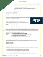 Evaluaciones Nacionales 2014-1 Epistemologia